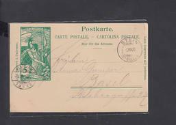 SVIZZERA  1900 - Carte Postale - Jubile De UPU - Entiers Postaux