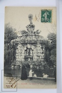 Old Postcard - France, Beziers - La Cascade Du Titan - Posted - Beziers