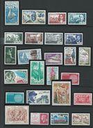 FRANCE - ANNEE COMPLETE 1970 - 42 Timbres Neufs Luxe** Du N° 1621 Au N° 1662.. Voir Descriptif. - 1970-1979