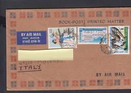 INDIA  1989 - Lettera Per L' Italia - India