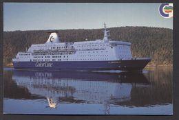 Color Line Ms Christian Iv Noorwegen  / Norway /Norja Oslo –(1991) - See The 2 Scans For Condition. ( Originalscan !!! ) - Dampfer