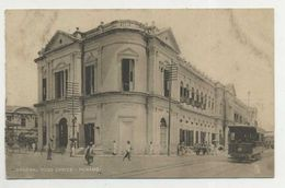 PENANG, Malaysia - General Post Office And Tramcar, TUCK'S  ( 2 Scans ) - Malesia