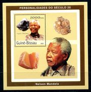 GUINEA-BISSAU 2001 GB0009 NELSON MANDELA - Geology