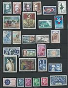 FRANCE - ANNEE COMPLETE 1967 - 33 Timbres Neufs Luxe** Du N° 1511 Au N° 1541. Voir Descriptif. - 1960-1969