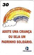 TÉLÉCARTE PHONECARD TARJETAS  BRÉSIL ADOPTION  SOLIDARITE - Brésil