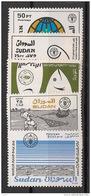 Soudan - 1988 - N°Yv. 347 à 351 - Alimentation - Neuf Luxe ** / MNH / Postfrisch - Soudan (1954-...)
