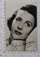 JANE HYLTON - Vintage PHOTO Autograph REPRINT (AT-03) - Reproductions