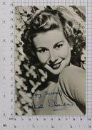 DINAH SHERIDAN - Vintage PHOTO Autograph REPRINT (AT-04) - Reproductions
