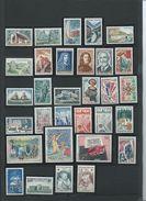 FRANCE - ANNEE COMPLETE 1965 - 35 Timbres Neufs Luxe** Du N° 1435 Au N° 1467. Voir Descriptif. - 1960-1969