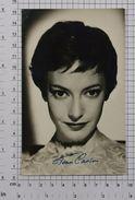 JEANNIE-JEAN CARSON - Vintage PHOTO Autograph REPRINT (AT-07) - Reproductions