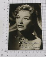 ODILE VERSOIS - Vintage PHOTO Autograph REPRINT (AT-10) - Reproductions