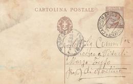 Campomarino. 1931. Annullo Guller CAMPOMARINO ( CAMPOBASSO ),   Su Cartolina Postale - 1900-44 Victor Emmanuel III