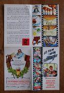 """Dépliant Publicitaire-Bières Caulier-Impérial-Labor-Jack-op-""""Le Film De La Fabrication"""" - Vers 1950 - Format 41,5 X26 Cm - Advertising"""