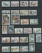 FRANCE - ANNEE COMPLETE 1963 - 38 Timbres Neufs Luxe** Du N° 1368 Au N° 1403. Voir Descriptif. - 1960-1969