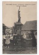 15 CANTAL - CALVINET La Fontaine, Statue De La Liberté - Other Municipalities