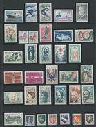 FRANCE - ANNEE COMPLETE 1962 - 52 Timbres Neufs Luxe** Du N° 1325 Au N° 1367. Voir Descriptif. - 1960-1969