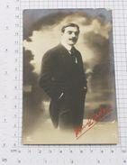 MAX LINDER - Vintage PHOTO Autograph REPRINT POSTCARD (AT-43) - Actors