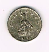 ) ZIMBABWE  2 DOLLARS  1997 - Zimbabwe