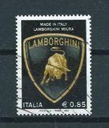 2007 Italy Lamborghini,cars,automobiles Used/gebruikt/oblitere - 6. 1946-.. Republic