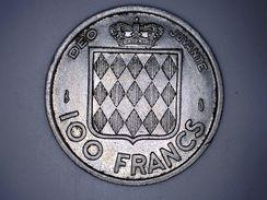 MONACO - 100 FRANCS 1956 - RAINIER III - Mónaco