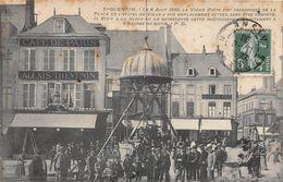 SAINT QUENTIN - Le 8 Août 1893, Le Vieux Puits Fut Transporté De La Place De L'Hôtel De Ville à Son Emplacement Actuel - Saint Quentin