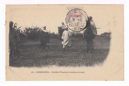 Casablanca. Cavaliers Chaouïas Se Rendant Au Camp. (1885) - Afrique
