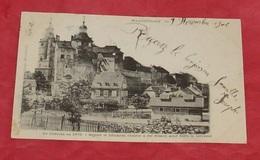 Montbéliard - Le Château En 1870 - Depuis Le Bâtiment Central A été Démoli ::: Tampon 1902    ---------- 435 - Montbéliard