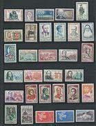 FRANCE - ANNEE COMPLETE 1961 - 44 Timbres Neufs Luxe** Du N° 1281 Au N° 1323. Voir Descriptif. - 1960-1969