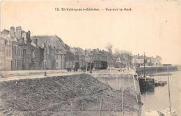 80-SAINT-VALERY-SUR-SOMME- VUE SUR LE  PORT - Saint Valery Sur Somme