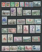 FRANCE - ANNEE COMPLETE 1960 - 53 Timbres Neufs Luxe** Du N° 1230 Au N° 1280. Voir Descriptif. - 1960-1969