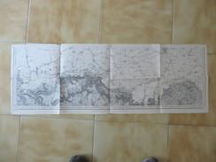 CARTE  ETAT MAJOR 25 LONGWY     REVISEE EN 1912 - Cartes Topographiques