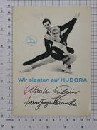 MARIKA KILIUS And HANS JURGEN BAUMLER - Vintage PHOTO Autograph REPRINT (AT-68) - Reproductions