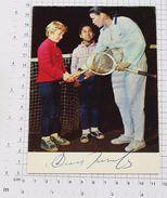 ANNA VLADIROVNA DMITRIEVA - Vintage PHOTO Autograph REPRINT POSTCARD (AT-69) - Tennis