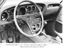 Photo De Presse-Toyota Celica 1600st:17x13 Cm - Automobili