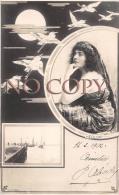 CPA - Portrait D' Artiste - Héglon - Actrice Jolie Jeune Femme Pretty Young Lady - Cigogne - Reutlinger 1902 - Artistes