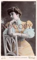CPA - Portrait D' Artiste - Jeanne Marie Laurent - Actrice Jolie Jeune Femme Pretty Young Lady - Reutlinger - Artiesten