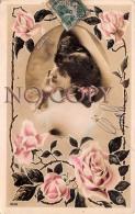 CPA - Portrait D' Artiste - Florval - Roses - Actrice Jolie Jeune Femme Pretty Young Lady - Reutlinger - Artistas
