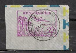 CONGO BELGE Aérogramme 4fr LEOPOLDVILLE LEOPOLDSTAD KALINA - Belgian Congo