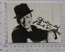 FRANK SINATRA - Vintage PHOTO Autograph REPRINT (AT-77) - Reproductions