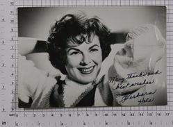 BARBARA HALE - Vintage PHOTO Autograph REPRINT (AT-78) - Reproductions