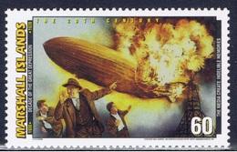 MH+ Marshallinseln 1998 Mi 987 Mnh Millenium: Zeppelin-Unglück - Marshall Islands