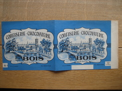 Emballage Boîte CONFISERIE-CHOCOLATERIE Du BOIS à MENIN - Chocolat