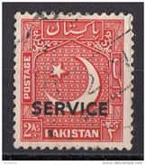 O29 Pakistan 1950 OFFICIAL STAMPS Overprint Surcharged  Viaggiati Used - Pakistan