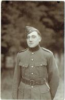 Carte Photo. Militaire.  Camp De Beverloo. Elsenborn. Foto Breukers -- Royal Photo. - Guerre, Militaire