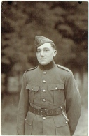 Carte Photo. Militaire.  Camp De Beverloo. Elsenborn. Foto Breukers -- Royal Photo. - War, Military