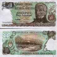 Argentine - Argentina 50 PESOS ARGENTINOS Pick 314 NEUF - Argentina
