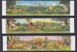 UNO NY, Geneva, Vienna 1996 City Summit 3x4v ** Mnh (36901A) - Gezamelijke Uitgaven New York/Genève/Wenen