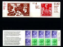 GREAT BRITAIN - 1982  £ 1.43  BOOKLET  EDMUND DULAC  LM  MINT NH  SG FN 2a - Libretti