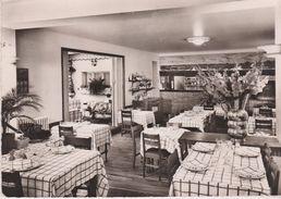 CPSM 10X15 .Restaurant Du Nègre (Intérieur) La Rôtisserie  Au Dos Cachet Du (37) - Hotels & Restaurants