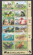 UNO NY, Geneva, Vienna 1998 Endangered Animals 3x4v ** Mnh (36901B) - Gezamelijke Uitgaven New York/Genève/Wenen